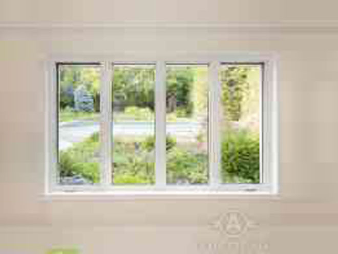 Regular Vynal Window Thermal Glass Unit Casement