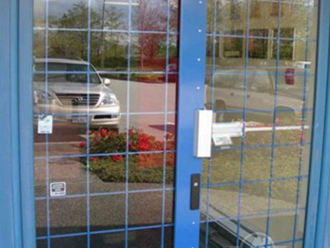 Folding Gate Security Bar Security Door